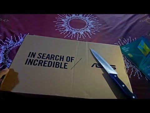 Unboxing asus vivobook s430fn dari tokopedia