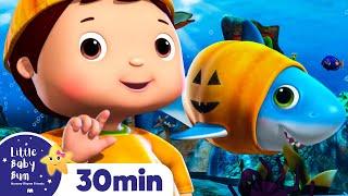 Halloween Shark - Halloween Songs   Nursery Rhymes & Kids Songs - ABCs and 123s   Little Baby Bum