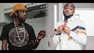Davido Ft. Popcaan   Risky (Lyrics Video)