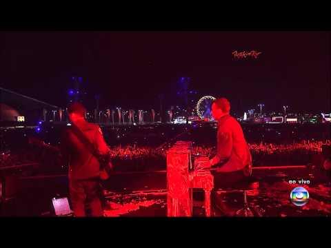Coldplay - Clocks @ Rock in Rio 2011, Brazil [HD]