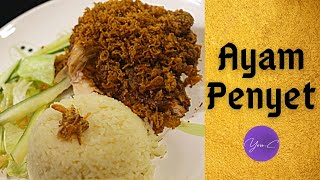 SINGAPORE HAWKERS' DELIGHT : AYAM PENYET ✨ EAT WELL #46