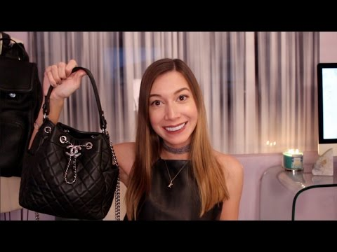 WHAT'S IN MY CHANEL DRAWSTRING PURSE? | Kylan Kinkade