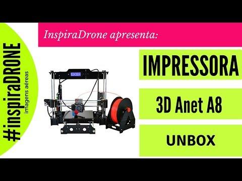Excelente Impressora 3d - Anet A8