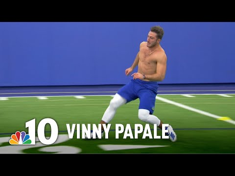 Vinny Papale Tries Following in Famous Father's Footsteps | NBC10 Philadelphia