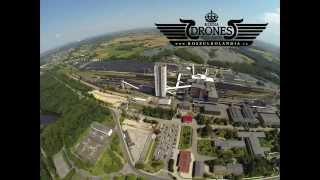 preview picture of video '2014-08-04 KWK ZIEMOWIT Kopalnia węgla kamiennego Lędziny - Hołdunów - Widok z lotu ptaka ŚLĄSK'