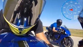 Kawasaki H2 vs Ducati 1299 vs Yamaha R1 vs Kawasaki ZX10R vs BMW S1000RR vs GSXR 1000R