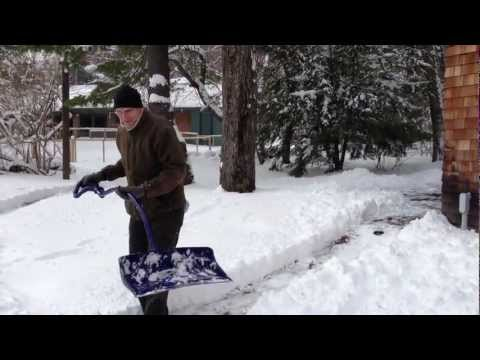 Shoveling Snow in the Berkshires