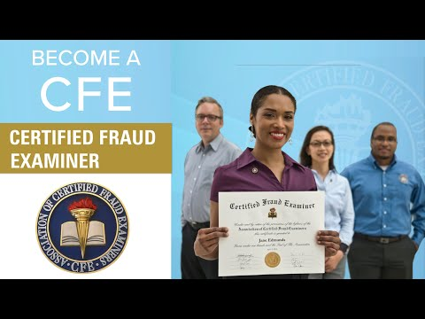 How to Become a Certified Fraud Examiner (CFE) - YouTube