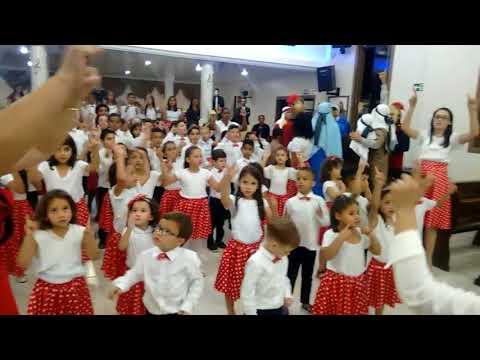 Confraternização de Crianças na I.E.A.D. em Assaí-PR