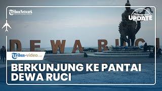 TRIBUN TRAVEL UPDATE: Indahnya Pantai Dewa Ruci di Purworejo
