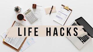 17 MINIMALIST LIFE HACKS