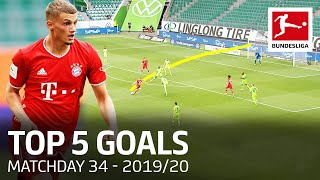 Top 5 Goals on Matchday 34 - Werner, Cuisance & More