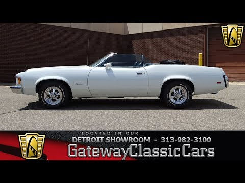 Video of Classic 1973 Cougar Offered by Gateway Classic Cars - Detroit - LCNZ