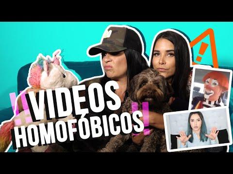 REACCIONANDO A VIDEOS HOM0FOBIC0S - Andreina Alvarez y Johanna EP#03