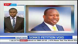 Petition against Governor Sonko's election is null and void
