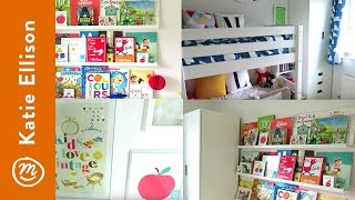 A Shared Girl's Room | BEDROOM TOURS From Channel Mum
