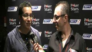 Day 3 Chipleader Georgios Kapalas Interview By Pokerunion.gr