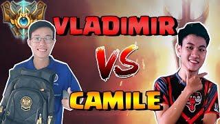 Sẽ ra sao khi Trung Vladimir đối đầu PVB Xuhao trên TOP với kèo Vladimir vs Camile !