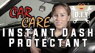 DIY Car Care - Instant Dash Protectant