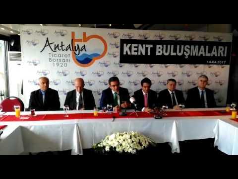 Antalya Ticaret Borsası'nın Kent Buluşmalar