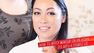 How To Apply Makeup On An Asian Eye With A Double Lid | Sherbet Birdie