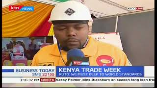 Kenyan manufacturers showcase products at Kenya Trade Week