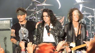 Hollywood Vampires I Want My Now, Raise The Dead, As Bad As I Am Live 2019