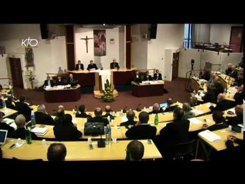 Assemblée des évêques - Séance de clôture (automne 2014)