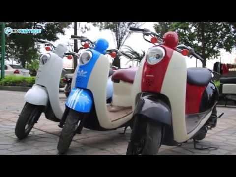 Xe máy Honda Scoopy 50cc nội địa Nhật