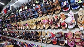 सबसे सस्ता Footwear बाज़ार ! Cheapest Footwear Market In Delhi !  Footwear Wholesale Market !