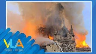 Devastador Incendio En La Catedral De Notre Dame Deja Pérdidas Invaluables.