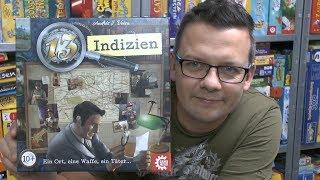 13 Indizien (Game Factory) - ab 10 Jahre - Deduktionsspiel ... nur etwas anders als Cluedo