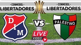 INDEPENDIENTE MEDELLIN Vs PALESTINO  [ COPA LIBERTADORES ] EN VIVO Simulador Flash