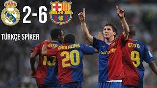 TARİHTE BUGÜN: Real Madrid 2-6 FC Barcelona   2 Mayıs 2009   Türkçe Spiker • HD