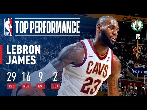 LeBron James FULL Game Highlights   29 Points, 16 Rebounds, 9 Assists