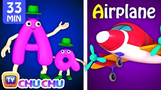 NEW 3D ABC Phonics Song with TWO Words Plus Many More Videos - ChuChu TV Nursery Rhymes for Babies