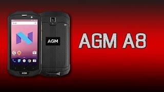 Смартфон AGM A8 4/64GB Black от компании Cthp - видео 2