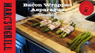 Bacon Wrapped Asparagus - Smoked