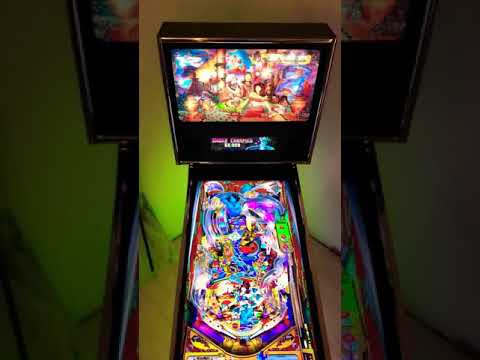 Acer ET430K UHD 4K monitor gaming test with a virtual pinball