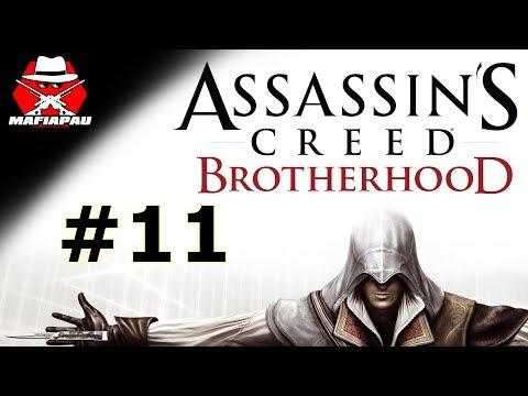 NEJPODĚLANĚJŠÍ MISE, JABLKO RÁJE! | Assassin's Creed Brotherhood | #11 | CZ Let's play | Mafiapau