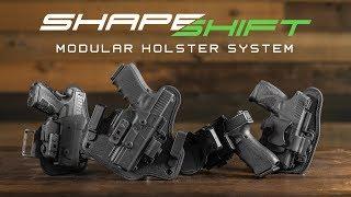 ShapeShift Holster: Modular Gun Holstering System
