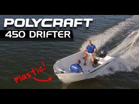 Polycraft Drifta 450 + Yamaha F60 4-Stroke Tiller boat review | Brisbane Yamaha
