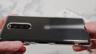 Spigen Liquid Crystal Case For Sony Xperia 1 Unboxing and Review