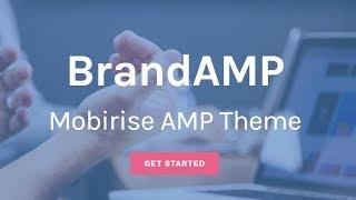 Gambar cover Mobirise | BrandAMP HTML Web Page Template