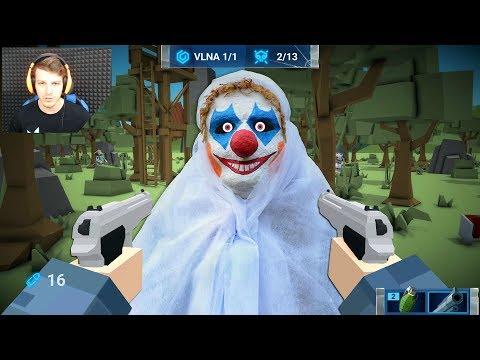 Creepy Klauni a Ultra BOSS - The Walking Zombie - Nakashi