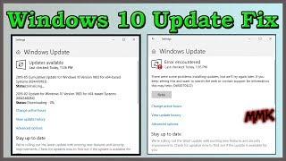 error windows update windows 10 2019 - TH-Clip