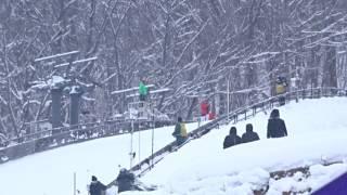 FISスキージャンプワールドカップレディース札幌大会二日目/LUNDBYMaren2回目のジャンプ
