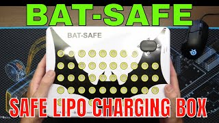 BAT-SAFE LIPO CHARGING & STORAGE BOX - FPV OR DRONE PROTECT YOUR SELF NOW