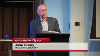 Mr John Cleary – Former ABC Radio Host as Master of Ceremonies (B)