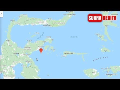 Gempa Terkini 12 April 2019! Banggai Kepulauan, Sulawesi Tengah di Guncang Gempa Berkekuatan 6,9 M